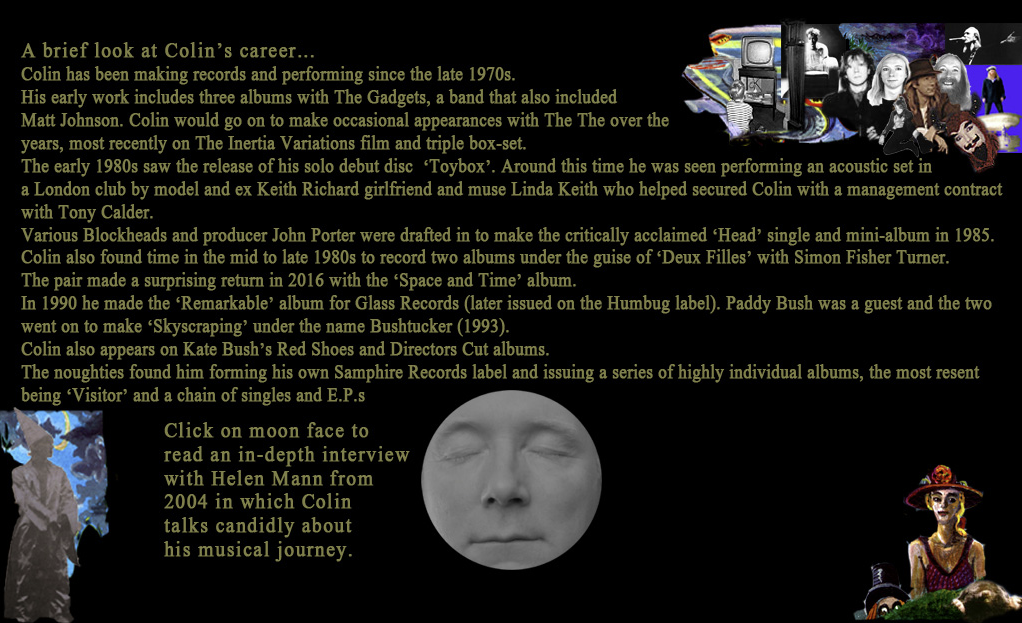 About Colin Lloyd Tucker- text version coming soon!